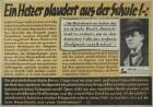 Ein Hetzer plaudert aus der Schule (NSDAP, Parole der Woche)