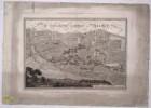 Plan vom Englischen Garten in München, Kupferstich, 1806
