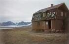 Reisefotos Norwegen. Nordpol-Bar (vielleicht auf Spitzbergen)