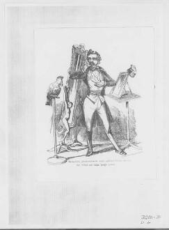 Ludwig von Elliot: Wie der Fürst Schnatterowski seine politische Toilette zwischen dem rechten und dem linken Spiegel macht Provenienz: Historisches Zentrum Wuppertal
