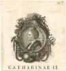"""""""CATHARINAE II"""" - Katharina II. (1729-1796)"""