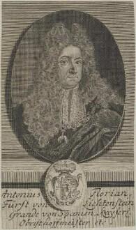 Bildnis von Antonius Florian, Fürst von Lichtenstein