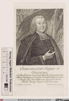Bildnis Christian August Crusius