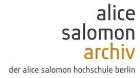 Alice Salomon Archiv der ASH Berlin