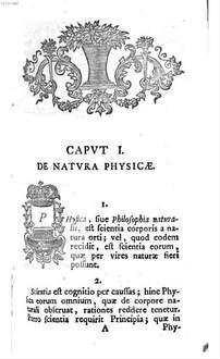 Praelectiones Academicae Publicae In Physicam Theoreticam. 1