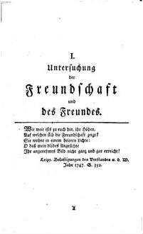 Sammlung vermischter Beiträge zum Dienste der Wahrheit, Vernunft, Freiheit und Religion, 1. 1749