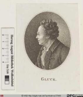 Bildnis Christoph Willibald Gluck (1756 Ritter von)