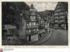 Homberg/Efze, Marktplatz mit alter Fachwerkbebauung