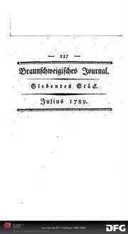 Eine kleine Logik: oder Vernunft-Anwendungs-Lehre ; nach dem Französischen des Herrn d' E.... sehr frei übersetzt ; in einem Brief an eine Dame