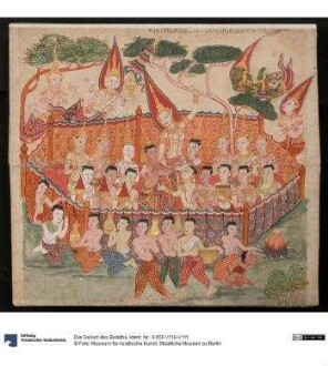 Die Geburt des Buddha