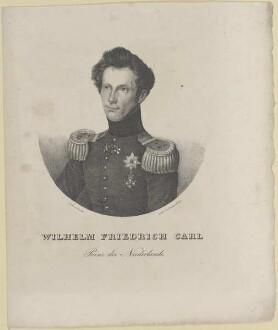 Bildnis des Wilhelm Friedrich Carl von Oranien-Nassau