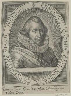 Bildnis des Ernestvs Casimir Nassaviae