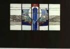 Entwurf für ein Glasfenster in der Friedhofskapelle in Frielendorf-Lenderscheid