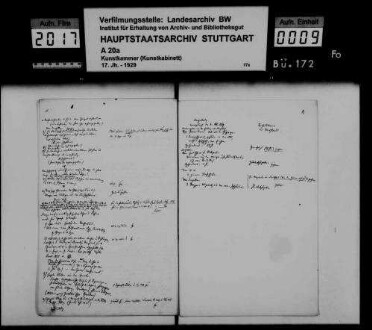 Protokolle der Erwerbskommission (des Vorstands) der Staatssammlung vaterländischer Kunst und Altertümer