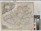 Mähren (Markgrafschaft) - Territorialkarte - Tabula generalis marchionatus Moraviae in sex circulos divisae - 2.V. 18.Jh. - 7 mährische Meilen = 7 cm - 46 x 55 - farb. Kupferstich: Joh. Baptist Homann, Nürnberg - Johann Christoph Müller - B Nr. 326a