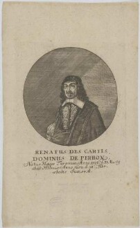 Bildnis des Renatus Des Cartes