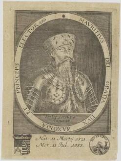Bildnis des Mavritivs Dvx Saxoniae et Princeps Electcor