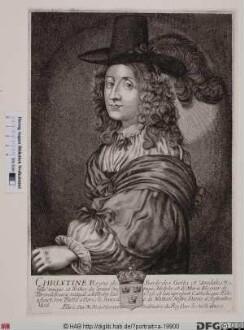 Bildnis Christina, Königin von Schweden (reg. 1632(44)-54)