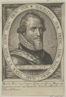 Bildnis des Mauritz van Orangien