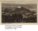 Lichtenberg im Odenwald, Ansicht mit Schloss / Reklamekarte für Hotel und Pension 'Schloss Lichtenberg'bzw. Kurhäuser Zur schönen Aussicht (Inhaber: Georg Schellhaas)