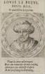 Bildnis von Lovys le Begve., König von Frankreich