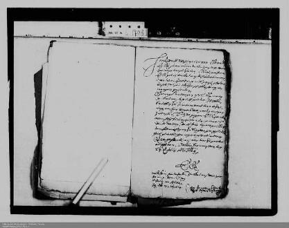Korrespondenz des Grafen Wilhelm von Solms-Greifenstein mit Graf Ludwig Heinrich von Nassau-Dillenburg