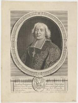 Bildnis des Jacobus Benignus Bossuet