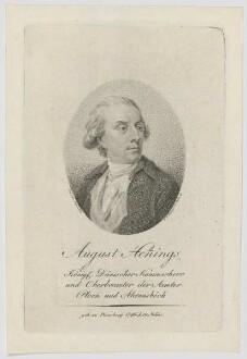 Bildnis des August Henings