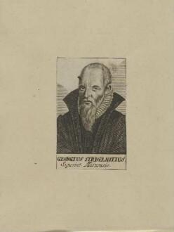 Bildnis des Georgius Strigenitius