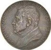 Medaille auf Dr. Hugo Eckener mit der Darstellung Orientfahrt des Luftschiffes Graf Zeppelin 1929