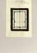 Entwurf für ein Glasfenster in einem Privathaus in Speckswinkel