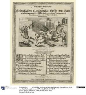 Entlauffener Ablaßkramer und helleuchtendes Evangelisches Liecht von Herrn Martino Luthern im 1517. Jahr...