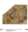 Der Traum des Agamemnon. Karton zu den Deckenbildern der Münchner Glyptothek