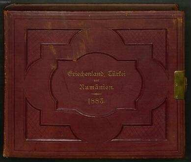 Nachlass von Therese von Bayern (1850-1925) – BSB Thereseana. 59.a, Therese von Bayern (1850-1925), Nachlass: Städte- und Landschaftsbilder aus Griechenland, Türkei und Rumänien aus dem Jahre 1883 - BSB Thereseana 59.a