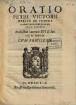 Oratio habita in funere Cosmi Medicis M. D. Etruriae