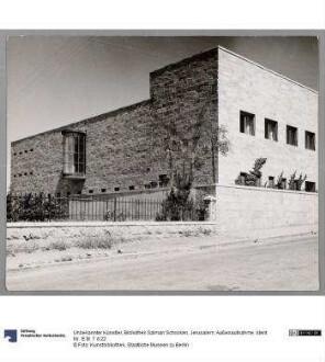 Bibliothek Salman Schocken, Jerusalem, Außenaufnahme