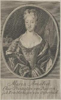 Bildnis der Maria Amalia, Chur Printzessin von Bayern