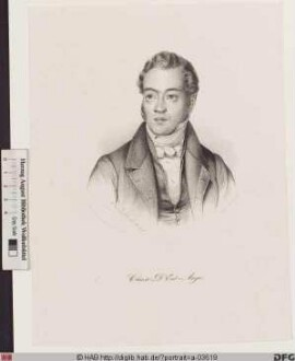 Bildnis (Gustave) Louis-Adolphe (Victor Charles) Chaix d'Est-Ange