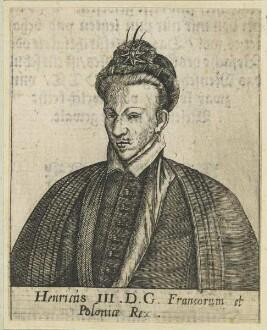 Bildnis Henricus III., Francorum et Poloniae Rex