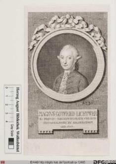 Bildnis Magnus Gottfried Lichtwer d. J.
