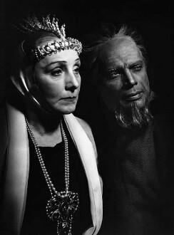 Hermine Körner und Walter Franck in Hamlet von William Shakespeare (Rollenporträt)