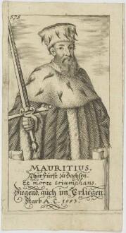 Bildnis des Mauritius, Churfürst zu Sachsen