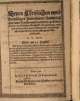Zwey christliche Sendschreiben an die Evangelischen Präger