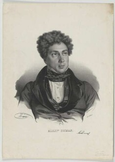 Bildnis des Alexander Dumas