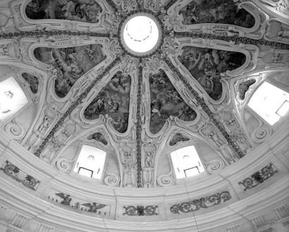 Innenaufnahme - Kuppel des Kuppelraums
