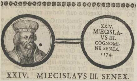 Bildnis von Miecislavs III., König von Polen