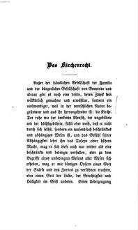 Gedanken über Recht, Staat und Kirche. 2, ˜Dieœ Kirche. Das Vaterland