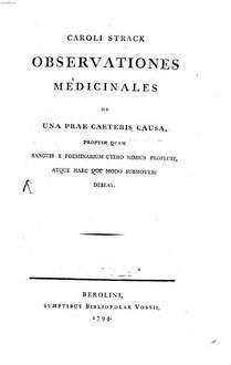 Observationes medicinales de una prae caeteris causa, propter quam sanguis e foeminarum utero nimius profluit, atque haec quomodo submoveri debeat