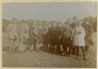 Moritzburg, Mitglieder der Ornithologen-Tagung bei einem Ausflug nach Moritzburg