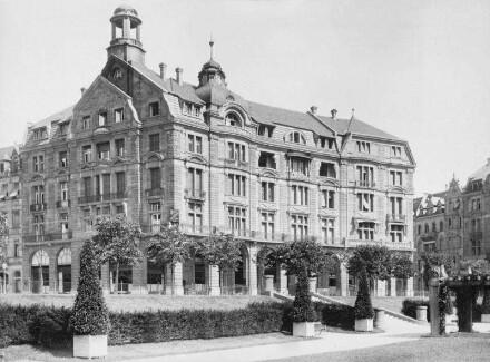 Arkadenhäuser — Nördliches Gebäude